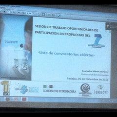 Photo taken at Parque Científico Tecnológico de Extremadura by José A. V. on 12/5/2012