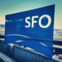 Photo taken at San Francisco International Airport (SFO) by Omer R. on 7/4/2013