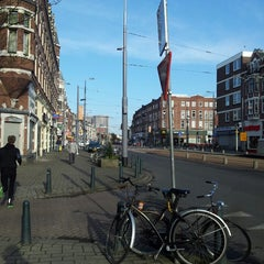 Photo taken at Metrostation Delfshaven [A, B, C] by Robbert V. on 4/27/2013