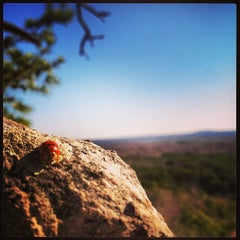 Photo taken at Crowders Mountain State Park by Jordan Y. on 1/21/2013