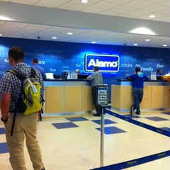 Photo taken at Alamo Rent A Car by Жека on 7/16/2013