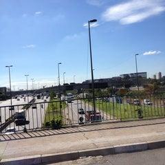 Photo taken at Ponte das Bandeiras by Alecsandro d. on 2/26/2013