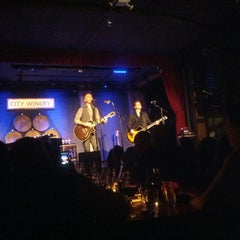 Photo taken at City Winery by Doug K. on 3/2/2013