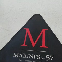 Photo taken at Marini's on 57 by Joddy N. on 1/19/2013