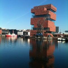 Photo taken at MAS I Museum aan de Stroom by Katya D. on 11/14/2012