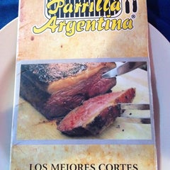 Photo taken at La Parrilla Argentina by Victor B. on 4/5/2014