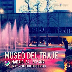 Photo taken at Museo del Traje by Juan Carlos O. on 2/28/2013