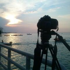 Photo taken at Jembatan Cinta by Leoristha on 5/29/2013
