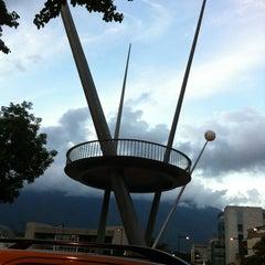 Photo taken at Plaza Alfredo Sadel by Oliver R. on 10/25/2012