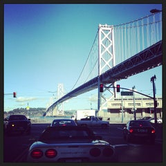 Photo taken at San Francisco-Oakland Bay Bridge by Guilherme C. on 12/27/2012