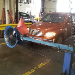 Photo taken at Emissions Testing Facility by Jen R. on 1/11/2013