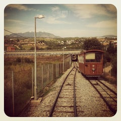 Photo taken at Funicular de Gelida: Estació Superior by Daniel G. on 9/26/2012