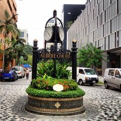 Photo taken at Albert Court Village Hotel by FhonFhon on 10/12/2012