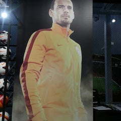 Photo taken at Galatasaray Store by Emrah K. on 4/26/2014