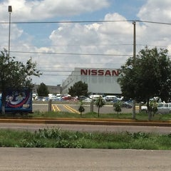 Photo taken at Nissan Mexicana A1 by Damaris G. on 6/28/2014