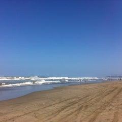 Photo taken at Playa Bonfil by Sharon on 7/27/2013