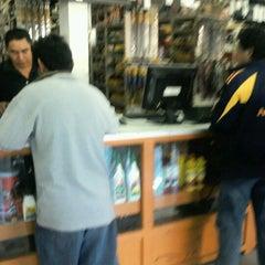 Photo taken at Refaccionaria Valdemar by Efra G. on 12/23/2012