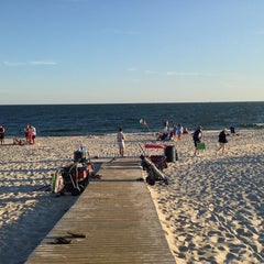 Photo taken at Civic Beach (Point Lookout) by Eric on 8/25/2013
