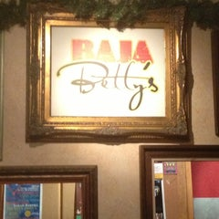 Photo taken at Baja Betty's by Gold on 12/27/2012