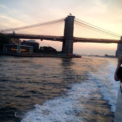 Photo taken at East River Ferry - Schaefer Landing/S. Williamsburg Terminal by Arielle on 8/24/2015