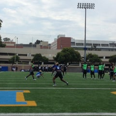Photo taken at UCLA Spaulding Field by Craig N. on 6/30/2013