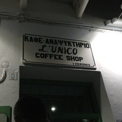 Photo taken at L'Unico Coffee Shop by David V. on 6/27/2013