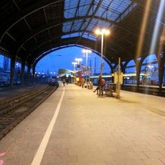 Photo taken at Hagen Hauptbahnhof by Herr E. on 4/8/2013