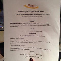 Photo taken at Pat's Pizzeria by Katie K. on 10/17/2013