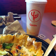Photo taken at Qdoba Mexican Grill by Rami Z. on 2/9/2013