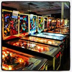 Photo taken at Pinball Hall of Fame by Nick M. on 1/10/2013
