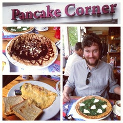 Photo taken at The Pancake Corner by Nick M. on 6/28/2013