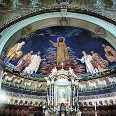 Photo taken at Basilica S.Cosma e Damiano by Elizabeth L. on 2/16/2014
