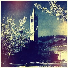 Photo taken at Campanile (Sather Tower) by Oski on 3/28/2013