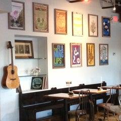 Photo taken at Café Eleven by Sean on 10/5/2012