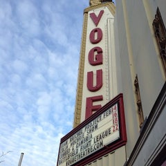 Photo taken at Vogue Theatre by Jay L. on 2/14/2013