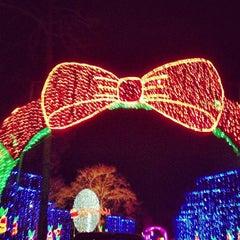 Photo taken at Santa's Wonderland by Jimmy D. on 12/24/2012