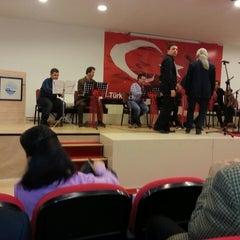 Photo taken at Eyup Musiki Cemiyeti by Latife B. on 12/25/2014