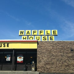 Photo taken at Waffle House by jeffrey b. on 3/14/2013