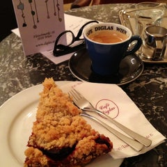 Photo taken at Konditorei Café Diglas by Mo  🙈 on 2/8/2013
