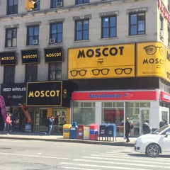 Photo taken at Moscot by Anton on 4/16/2016