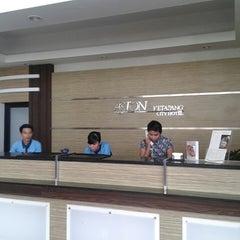 Photo taken at Aston Ketapang City Hotel by Angga O. on 6/9/2014