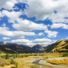 Photo taken at Telluride, CO by Mary Anne R. on 10/4/2015