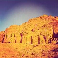 Photo taken at Petra البتراء by Alessandro G. on 12/7/2012