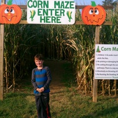 Photo taken at Gaver Farm by Aaron M. on 9/25/2012