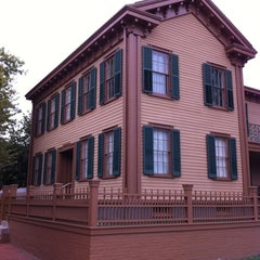 Photo taken at Lincoln Home National Historic Site by Dave B. on 9/20/2012