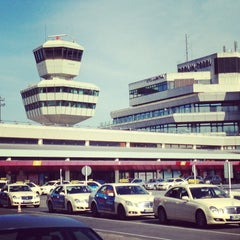 Photo taken at Berlin-Tegel Airport Otto Lilienthal (TXL) by Ya G. on 6/17/2013