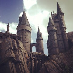 Photo taken at Harry Potter and the Forbidden Journey / Hogwarts Castle by Kory A. on 5/28/2013