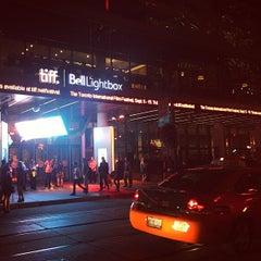 Photo taken at TIFF Bell Lightbox by Jeffrey H. on 9/11/2013