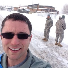 Photo taken at US Army National Guard Armory by Seth C. B. on 12/16/2013