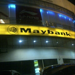 Photo taken at Maybank by Mohd S. on 1/7/2013